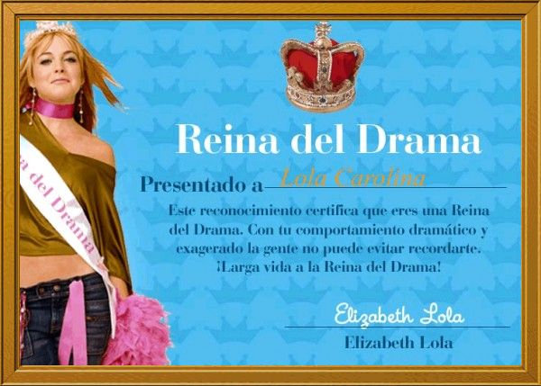 Teenager Drama Queen: La Reina Del Drama Llego